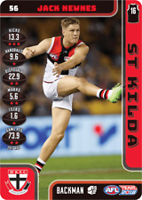 2018 TEAMCOACH ST KILDA JACK NEWNES # 56 COMMON CARD AFL free post
