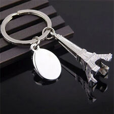 1x Zinc Alloy Eiffel Tower French Souvenir Paris Keychain Keyring  Chain Ring gg