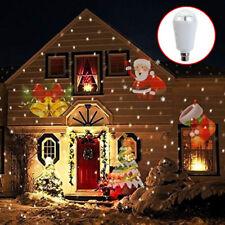 Impermeable Movibles Proyector Láser Luz LED exterior paisaje Halloween