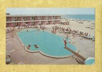 NJ Point Pleasant Beach 1950-60s postcard BEACON MANOR HOTEL New Jersey roadside