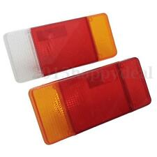 Pairs LH & RH Rear Tail Light Lamps Lens Lenes Cover For Iveco Eurocargo Daily