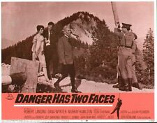 Danger Has Two Faces 11x14 Lobby Card #8
