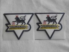 England Premier League 03-04 Player Standard Sleeve Velvet Soccer Patch / Badge
