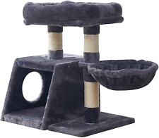 New listing Small Cat Tree Tower Play Furniture with Sisal Scratching Posts,sturdy Cat Condo