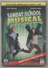 NUEVO DVD + CD SUNDAY ESCUELA MUSICAL EN BLÍSTER CHANSONS DANSE COMEDIA familia