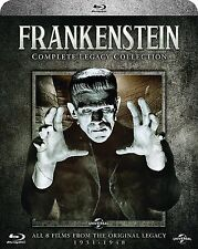 FRANKENSTEIN Complete Legacy Collection 1931-1948 BOX 5 BLURAY in Inglese NEW .c
