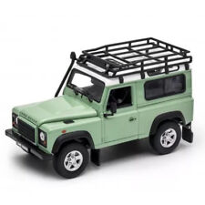 Welly 1:24 Land Rover Defender Diecast Model SUV Car Green NEW IN BOX Limited
