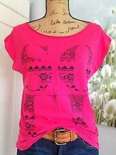 New-Yorkais AMISU T-Shirt PINK taille XS 34