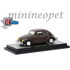 M2 MACHINES 40300-67 B 1952 VW VOLKSWAGEN BEETLE DELUXE 1/24 DIECAST PEARL BROWN