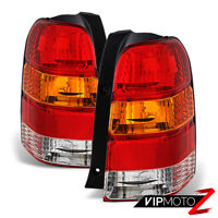 2001-2007 Ford Escape [FACTORY STYLE] Rear Brake Tail Lights Lamps Assembly PAIR