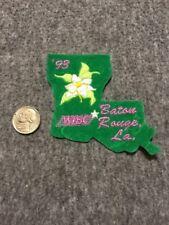 Vintage Wibc Baton Rouge Louisiana 1993 Bowling Patch Mint