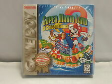 Super Mario Land 2: 6 Golden Coins Game Boy Sealed Players Choice - Nintendo