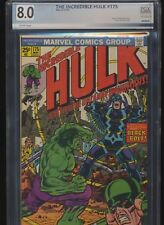 Incredible Hulk #175! PGX (Not CGC) 8.0 (Marvel 1974) SEE PICS AND SCANS! WOW!