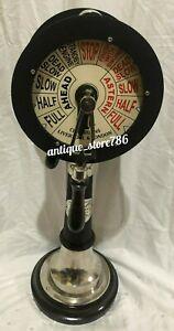 Nautical Ship Engine Order  Room Telegraph 18 inch Matt black finish for Home