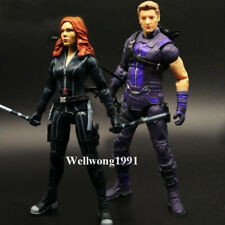 Marvel Legends Hawkeye Black Widow Lovers Action Figure Toy Avengers EndGame