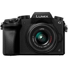 Panasonic Lumix DMC-G7KEB-K Compact System Camera with 14-42mm OIS Lens, 4K,16MP