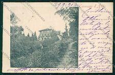 Lodi Cavenago d'Adda PIEGHINA cartolina QK3545