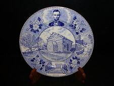 Old English Staffordshire Jonroth PRESIDENT ABRAHAM LINCOLNS BIRTHPLACE Kentucky