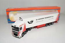 A5 28 1:50 TEKNO DAF 95XF 95 XF G. VAN DONGEN TRANSPORT TRUCK WITH TRAILER MIB