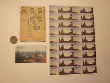 COINS PRAGUE COIN MAGNET STICKERS CZECHOSLOVAKIA CZECH REPUBLIC 26 ITEMS #2