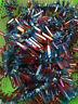50g 6-9pcs Rainbow AURA FLAME Titanium Seed Quartz Crystal POINT Healing