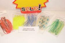 fishing 25  Squid Lure Skirts 100 mm 5 asst colours  M F0390 - 1 - 2 - 3 - 4  SI