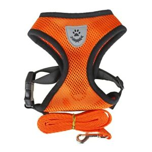 ##Cat ##Dog Adjustable Harness Vest Walking Lead Leash For Puppy Dogs Collar##