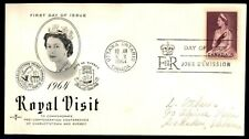 Mayfairstamps Canada Fdc 1964 Royal Visit Pre Confedetration Conferences First D