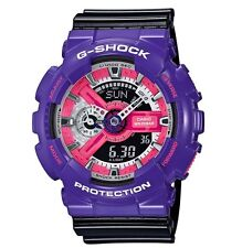 Casio G Shock * GA110NC-6A Anadigi Gloss Violet & Black Watch COD PayPal