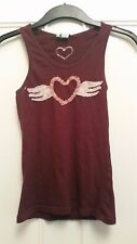 Urban Outfitters damsel heart with wings patchwork cami strap tank top