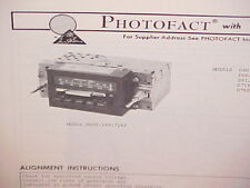 1976 1977 FORD F-250 TRUCK COURIER MERCURY LINCOLN AM-FM RADIO SERVICE MANUAL