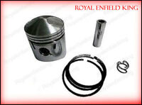 Royal Enfield 350cc Piston Assy With Rings Oversize +40