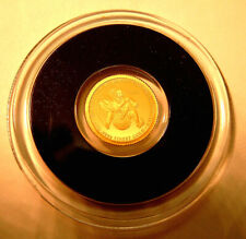 Baron Münchhausen Lügengeschichten Tschad 3.000 Fr. 2020 PP Gold 999 Ø11mm 1/2g