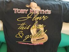 MENS TOBY KEITH T-SHIRT 100% COTTON SIZE MEDIUM