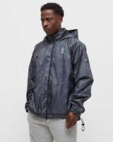 Nike NBA Team 31 Courtside Jacket Men's Black Fireberry Windbreaker Top Outwear
