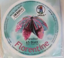 Faltblätter Florentine Paradiso 03; 65 Blatt D: 10 cm 80 g/qm