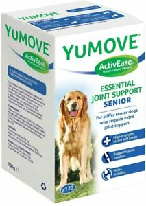 Lintbells YuMOVE SENIOR DOG Joint Support Supplement Stiff Older Dogs 120 Tabs