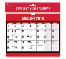 2018 mese per visualizzare Muro Planner Calendario facile Casa Ufficio a spirale vincolati grandi