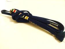 帯締め OBIJIME - Sur ceinture de obi - Bleu marine -  Made in Japan 123