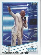 Theodore Long 2013 WWE Topps Triple Threat Trading Card #78 Smackdown Teddy