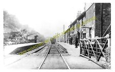 Dovecliffe Railway Station Photo. Wombwell - Birdwell & Hoyland Common. (1)