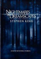 NIGHTMARES & DREAMSCAPES STEPHEN KING 8 STORIES 3 DISCS R4
