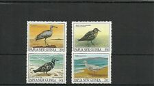 PAPUA  NEW GUINEA SG 624-627 MIGRATORY BIRDS SET MNH
