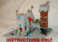 CUSTOM LEGO CASTLE SET INSTRUCTION ONLY