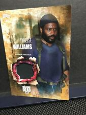 The Walking Dead Season 5 Tyreese Williams  Authentic Pants Relic Card Rust85/99