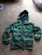 Volcom Youth Large Snowboarding Coat green