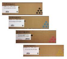 4 Original Toner Ricoh Aficio SP C231 C232 C242 C321 SF / C310HE 407634 -407637