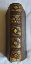 1666 IDEA THEOLOGIAE SPECULATIVAE PAR PIERRE SAINT JOSEPH FULIENSI LUGDUNI LYON