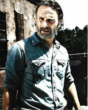 """Andrew Lincoln """"Rick"""" The Walking Dead signed 8x10 Photo !!! Final Season B"""