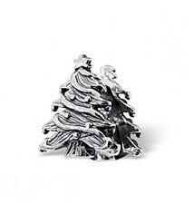 Árbol de Navidad plata esterlina 925 encanto grano